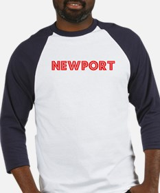 Retro Newport (Red) Baseball Jersey