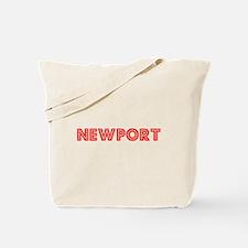 Retro Newport (Red) Tote Bag