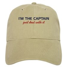 I'm The Baseball Captain, Just Deal Wi Baseball Cap