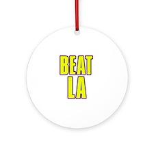 """""""Beat LA"""" Ornament (Round)"""