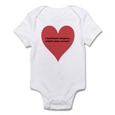I had heart surgery, what's y Infant Bodysuit