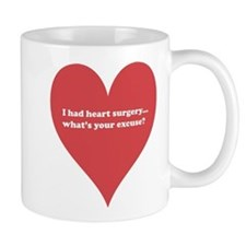 I had heart surgery, what's y Small Mugs