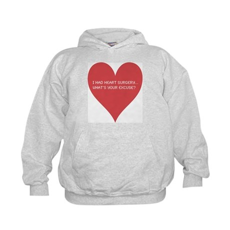 I had heart surgery, what's y Kids Hoodie