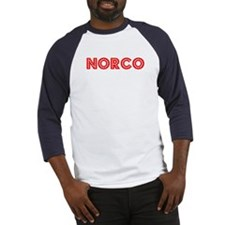 Retro Norco (Red) Baseball Jersey