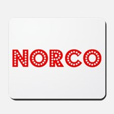 Retro Norco (Red) Mousepad