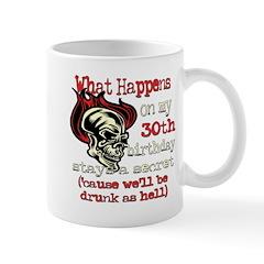 Drinking 30th Mug