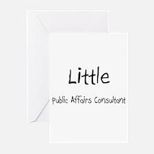 Little Public Affairs Consultant Greeting Cards (P
