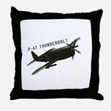 Republic P-47 Throw Pillow