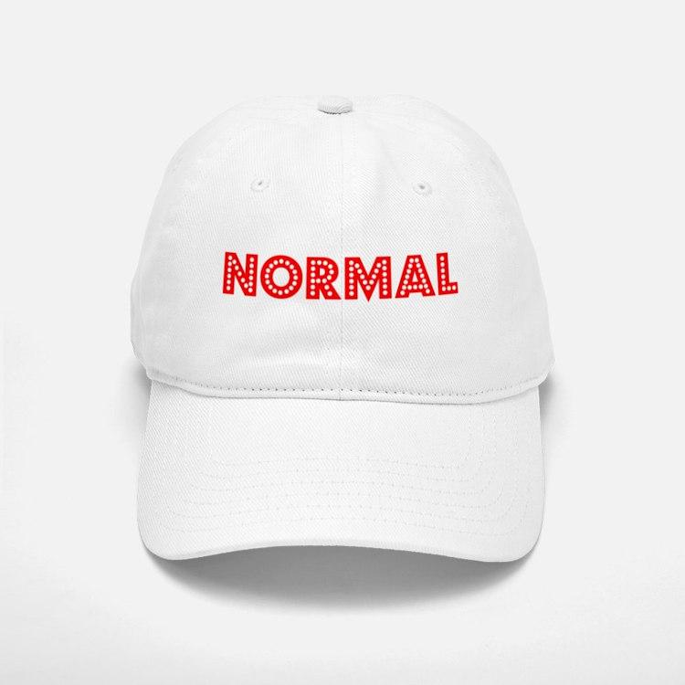 Retro Normal (Red) Baseball Baseball Cap