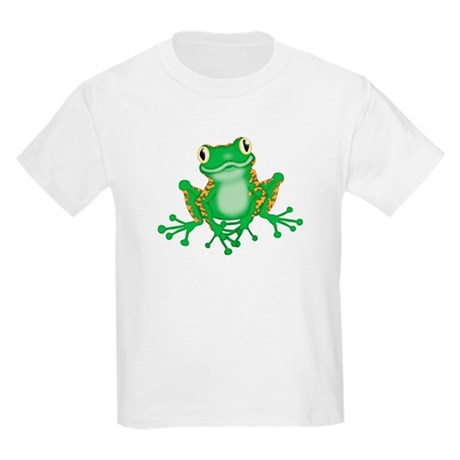 GREEN TREE FROG - Kids Light T-Shirt