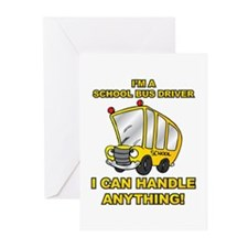 School Bus Driver Greeting Cards (Pk of 20)