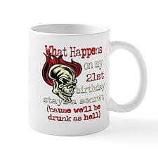 Drinking 21st Mug