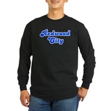 Retro Redwood City (Blue) T