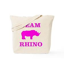Team Rhino Shirt Tote Bag
