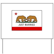 California Gay Marriage Yard Sign