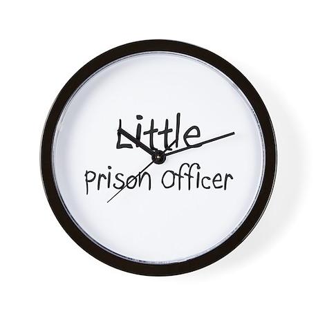 Little Prison Officer Wall Clock