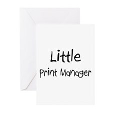 Little Print Manager Greeting Cards (Pk of 10)