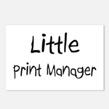 Little Print Manager Postcards (Package of 8)