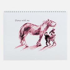 Dance with Me Wall Calendar