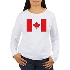 CANADA Womens Long Sleeve T-Shirt