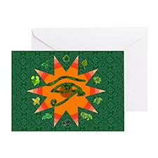 Pagan Eye Greeting Card