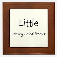 Little Primary School Teacher Framed Tile