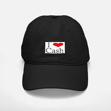 I Heart Cash Baseball Hat