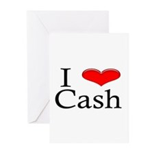 I Heart Cash Greeting Cards (Pk of 10)