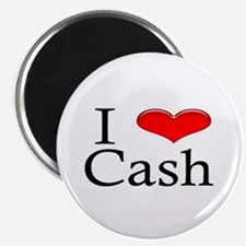 I Heart Cash Magnet