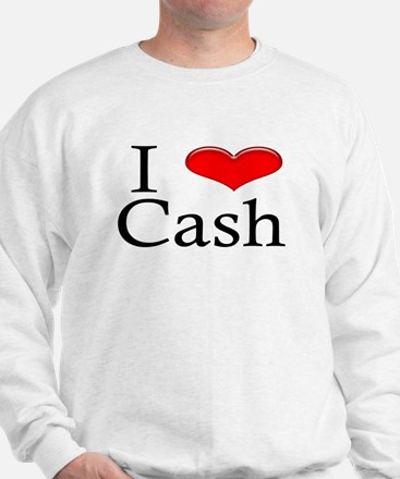 I Heart Cash Sweater