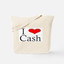 I Heart Cash Tote Bag