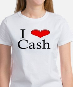 I Heart Cash Women's T-Shirt