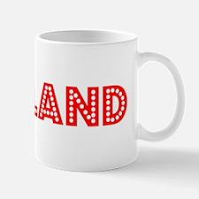 Retro Oakland (Red) Mug