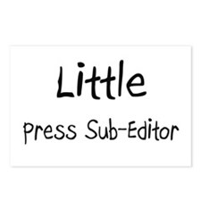 Little Press Sub-Editor Postcards (Package of 8)