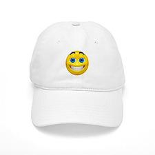 Smiling Emoticon (A) Baseball Cap