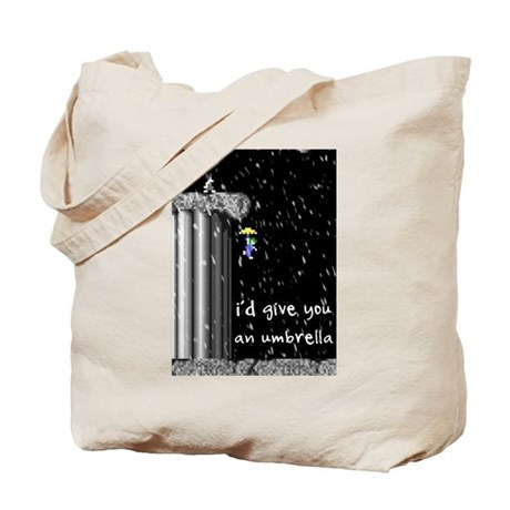 Snowy Lemming Tote Bag