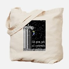 Snowy Lemming Tote Bag