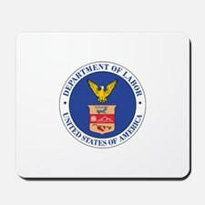 DEPARTMENT-OF-LABOR-SEAL Mousepad