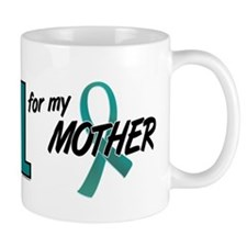 I Wear Teal For My Mother 10 Small Mugs