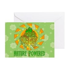 Nature Powered Greeting Card