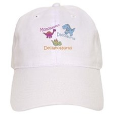 Mom, Dad, & Declanosaurus Baseball Cap