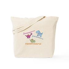 Grandma, Grandpa, & Haydenosa Tote Bag