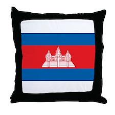 CAMBODIA Throw Pillow