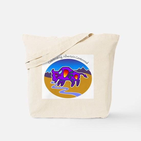 Alberta Centennial Buffalo Tote Bag