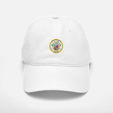 MONTGOMERY-COUNTY-SEAL Baseball Baseball Cap