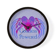 Goddess Powered Wall Clock