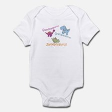 Grandma, Grandpa, & Jamesosau Infant Bodysuit