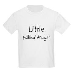Little Political Analyst T-Shirt