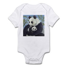 Cuddly Pandas Infant Bodysuit
