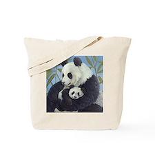 Cuddly Pandas Tote Bag